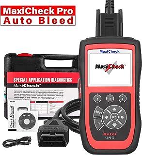 Autel MaxiCheck Pro OBD2 Diagnósticos Coche Escáner con ABS Sangrado de Frenos, Restablecimiento de Aceite, SRS, SAS, EPB, BMS, DPF para Vehículos Específicos