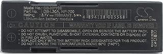GAXI Battery for Sanyo VPC-SH1, VPC-SH1GX, VPC-SH1R Replacement for Sanyo Camera Battery