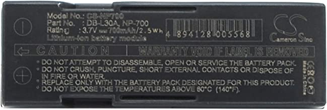 CameronSino Replacement Battery Compatible with Pentax Camera Optio Z10