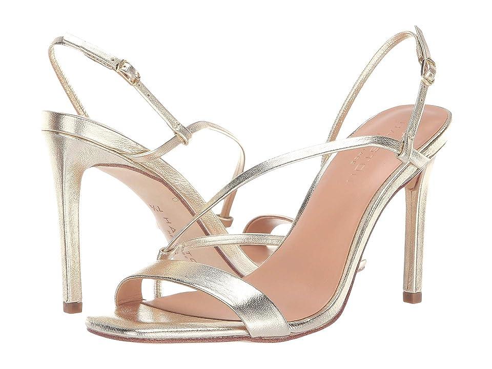 Halston Heritage Isla Sandals (Gold Metallic) Women