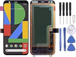 SHUHAN LCD Screen Phone Repair Part LCD Screen and Digitizer Full Assembly for Google Pixel 4 Mobile Phone Accessory