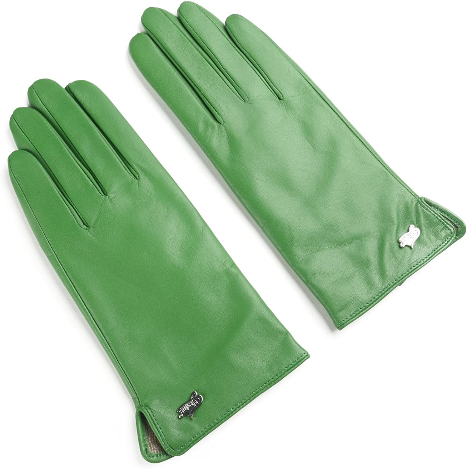 Ambesi Women's Max 47% OFF Cashmere Lined Gloves Leather Nappa Winter Brand new
