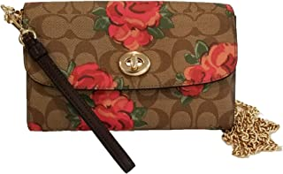 Coach Chain Crossbody in Signature Canvas with Jumbo Floral Print F39149
