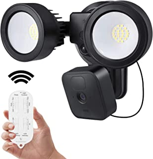 Wasserstein 3-in-1 Remote Floodlight, Charger and Mount Compatible with Blink Outdoor & Blink XT2/XT Camera - Turn Your Blink Camera into a Powerful Floodlight (Blink Camera NOT Included)