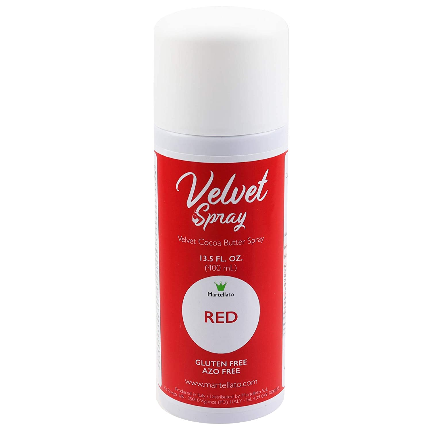 Martellato Red Velvet Spray Ounce 400ml Attention brand 13.5 New products world's highest quality popular