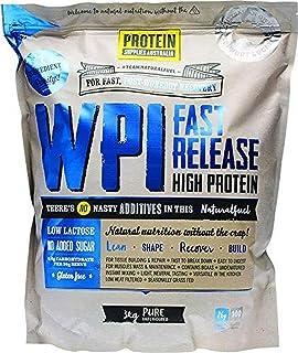 Protein Supplies Australia Pure Whey Protein Isolate Powder 3 kg,, Pure 3 kilograms