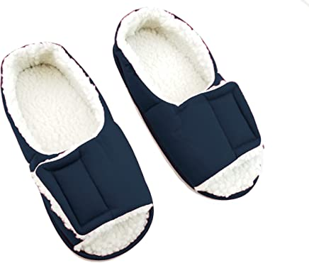 a916f42732411 Men s Open Toe Edema Slippers - Shoes for Diabetic Feet - Roomy Shoes -  Extra Wide