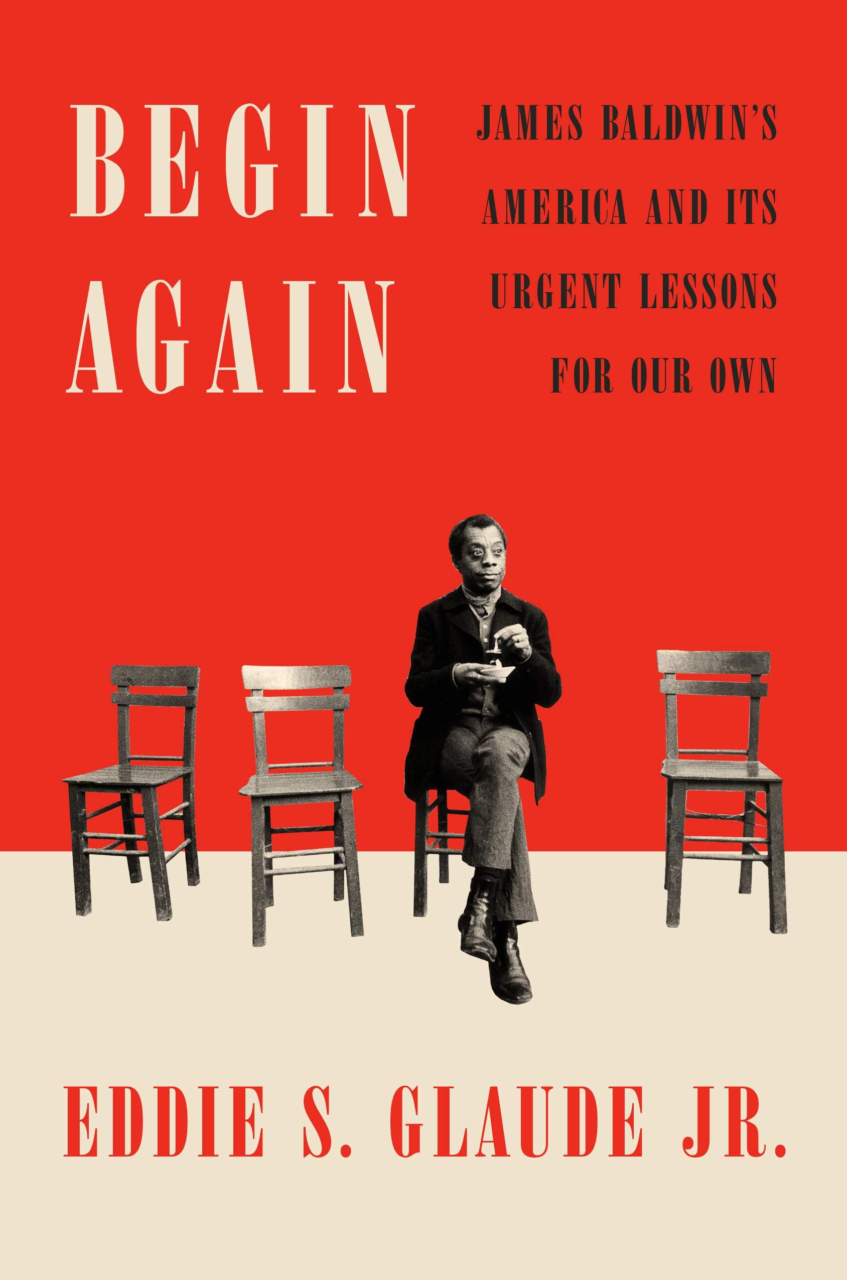 Cover image of Begin Again by Eddie S. Glaude