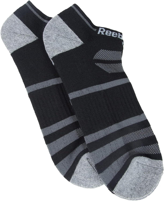 Reebok Men's 2 Pack Big and Tall Low Cut Socks
