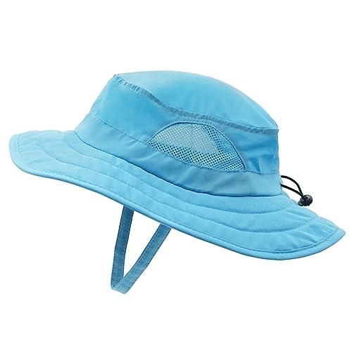 adb003d8 Decentron Kids UPF 50+ Bucket Sun Hat UV Sun Protection Hats Adjustable  Play Hat
