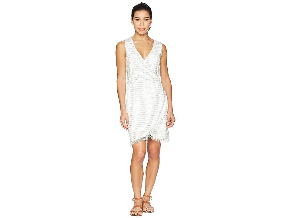 Carve Designs Kendall Dress (White Water Stripe) Women