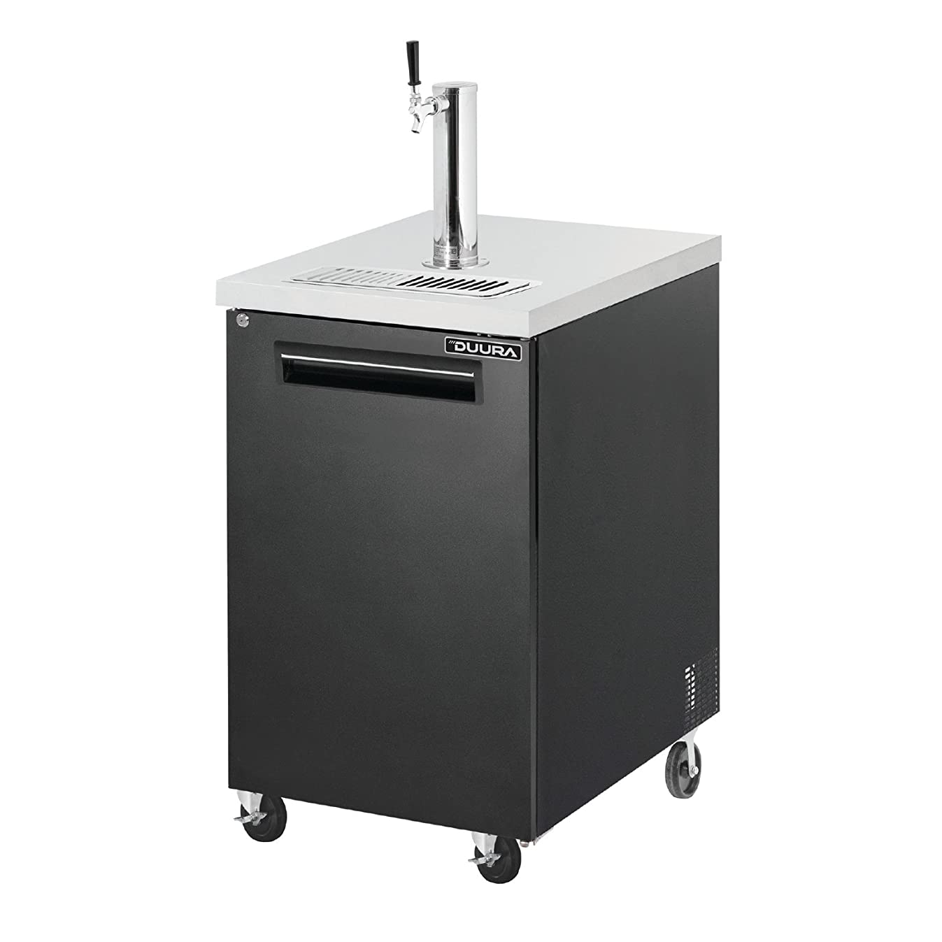 DUURA DLKC24 Keg Cooler with Tower, Stainless Steel(Discontinued by Manufacturer)