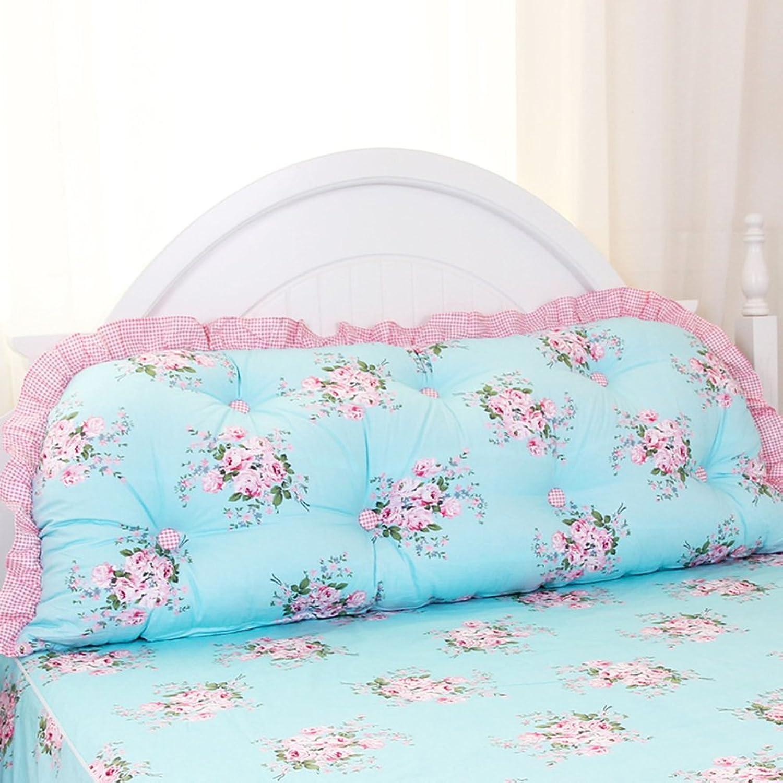 DXG&FX Kit de Produits Princess Bed Assortir l'oreiller sur Le lit Chevet par Repos de lit-A diamètre150cm(59inch)
