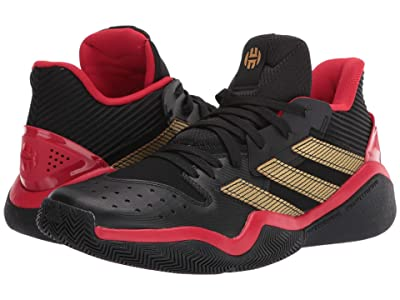 adidas Harden Stepback (Core Black/Scarlet/Shock Lime) Men