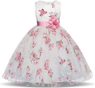 Summer Toddler Girl Dresses for School Wear Children Wedding and Holiday Clothing Kids Party Dresses for Girl 8 10T,As Photo,6