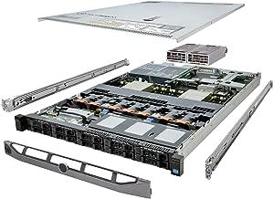 TechMikeNY PowerEdge R620 Server 3.30Ghz 8-Core 96GB 10x 600GB Enterprise (Renewed)