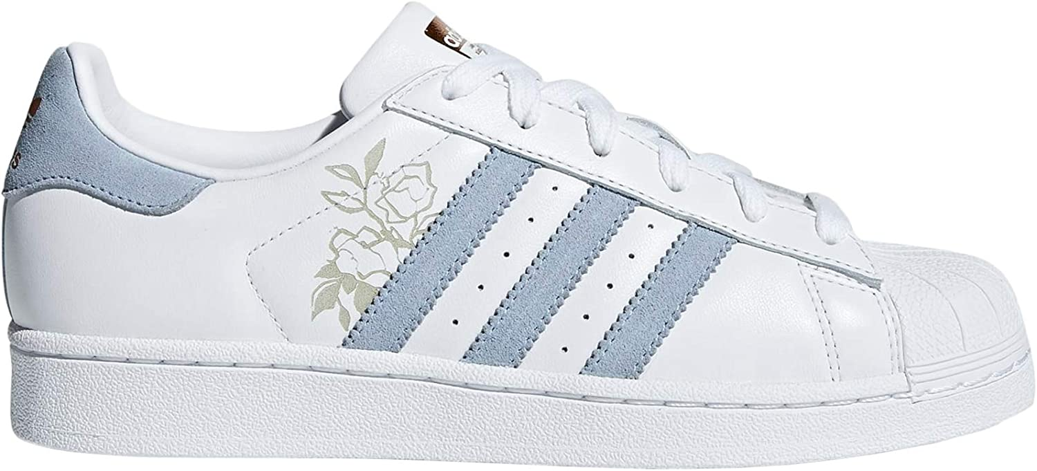 Adidas Womens Superstar Floral Leather Trainers