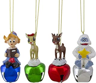4 Rudolph The Red-Nosed Reindeer Character Jingle Buddies Christm4as Ornaments