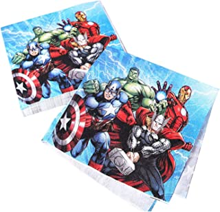 Party Tableware Party Tableware Avengers Children's Birthday Party Decorations Kids Supplies Paper Cup Plate Tablecloths (...