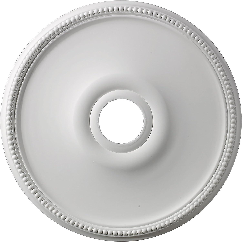 Elk half M1003 Brittany unisex Ceiling White Medallion Finish 19-Inch