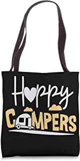 Camping Gifts Camper Decor Canvas Shoulder Bag Small Canvas Tote Adventure Awaits Messenger Bag for Women Happy Camper Tote ~ Camping Gear