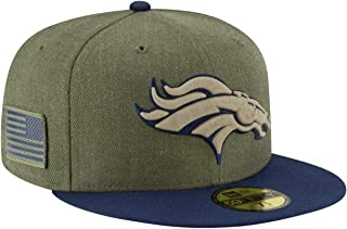 New Era Denver Broncos 2018 Salute to Service 59FIFTY On Field Fitted Hat