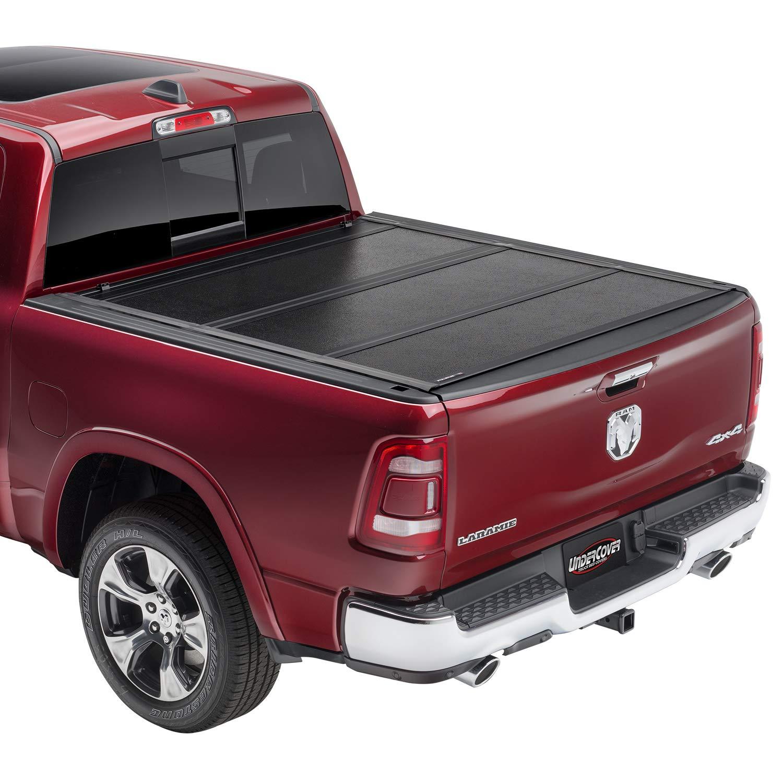 Amazon Com Undercover Flex Hard Folding Truck Bed Tonneau Cover Fx31006 Fits 09 20 Dodge Ram 1500 5 7 Bed Automotive