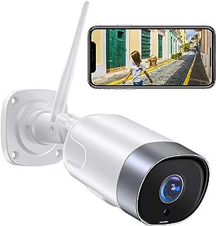 【2021 Aggiornato】Supereye FHD 1080P Telecamera IP Esterna,Telecamera di Sicurezza con Rilevazione Movimento e Audio Bidire...