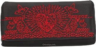 Grand portefeuille ethnique femme en simili cuir Tekila Sunrise 19wayp24 taille 9.5 cm Desigual