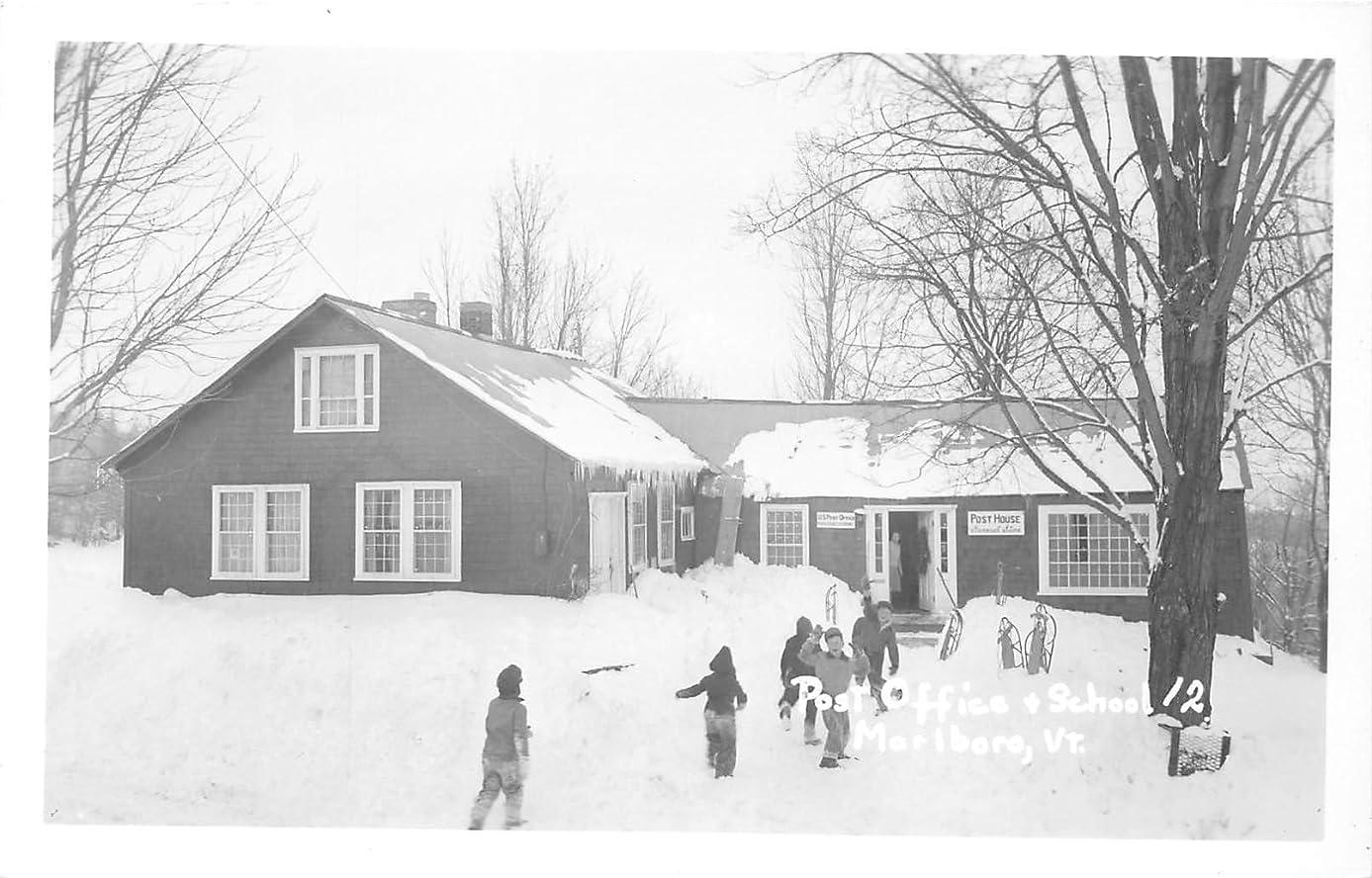 Marlboro, Vermont Postcard