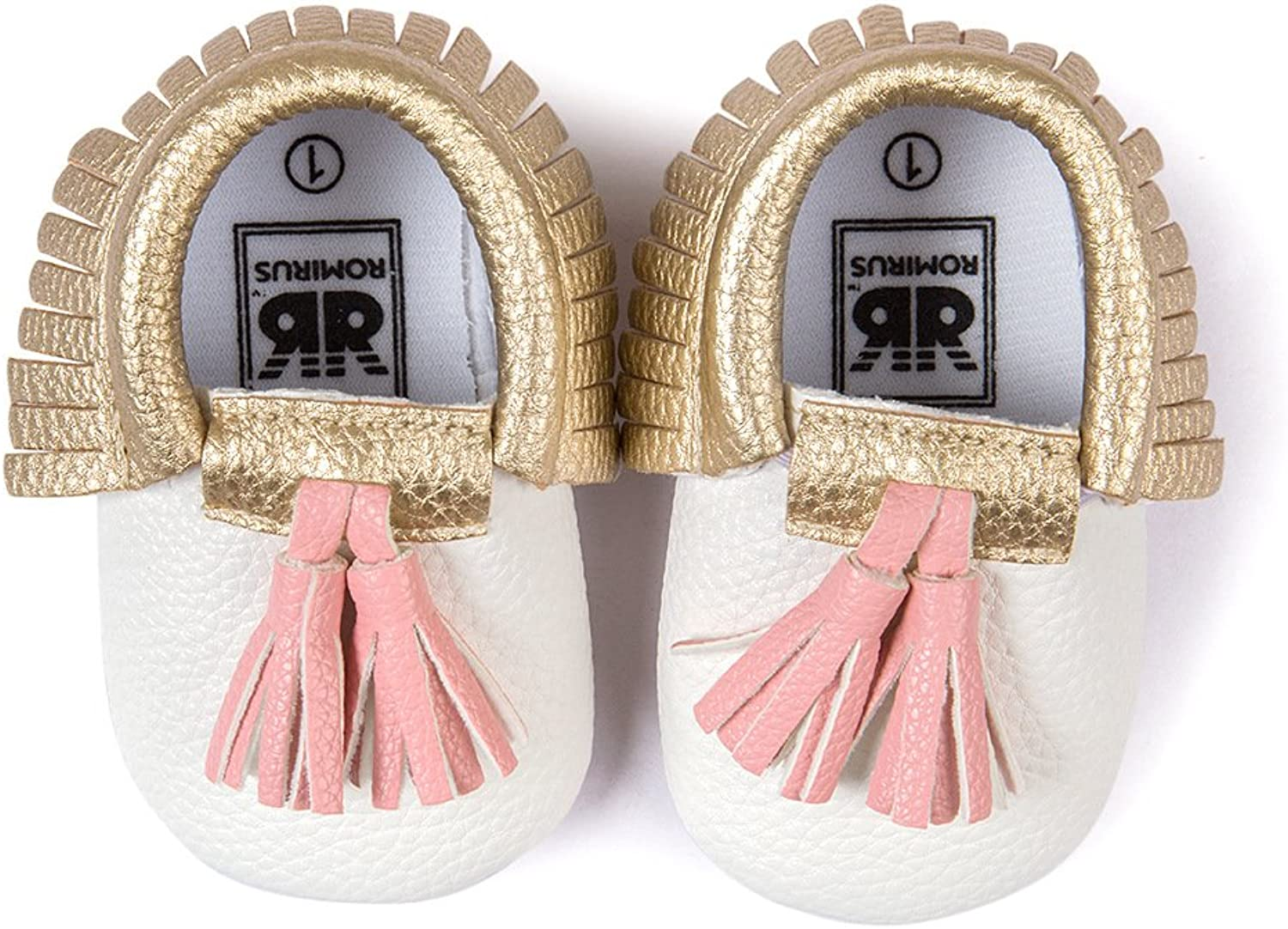 Save Beautiful Infant Baby Soft Sole PU Leather Boy Girl Toddler Moccasin Prewalker shoes