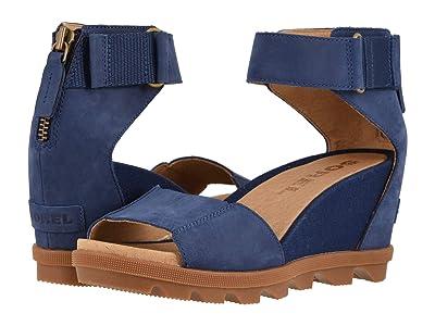 SOREL Joanietm II Ankle Strap (Blue Shadow Nubuck) Women