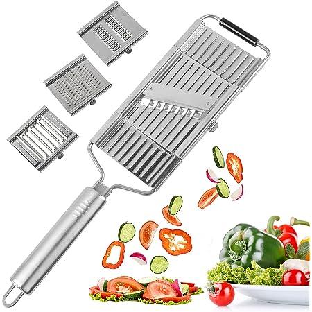 Peeler Cutter For Kitch Grater New Multi-Purpose Vegetable /& Fruits Slicer