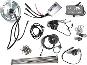 Naks Automation 36v 250 Watt Controller LED Display Thumb Throttle Ebrakes Pas Sensor Spkoes Electric Bicycle Hub Motor Kit Set