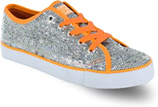 Pizzazz Lace Up Low Top Sneaker