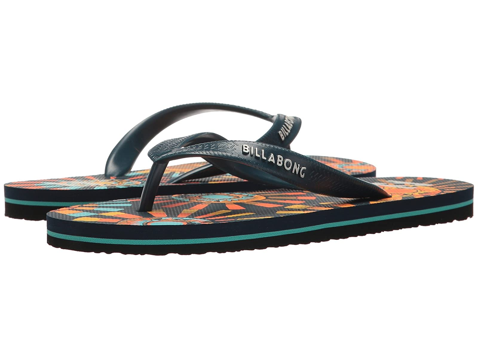 Billabong Tides (Little Kid/Big Kid)Comfortable and distinctive shoes