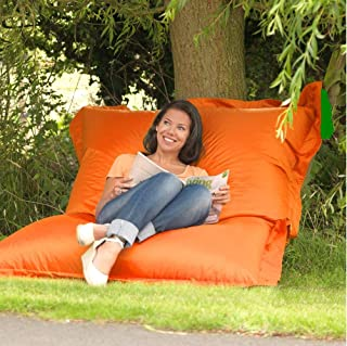 Next Bedding Indoor & Outdoor Giant Pillow Bean Bags (Orange)