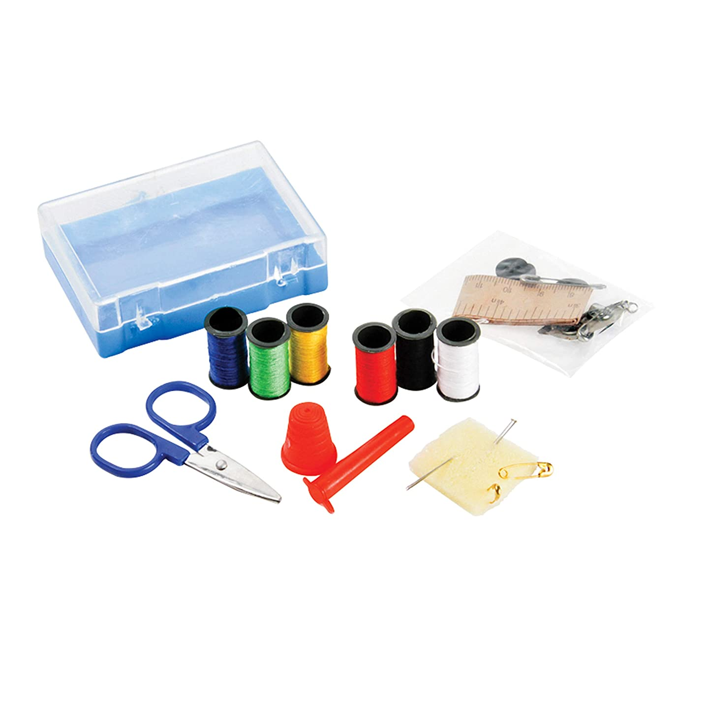 Camco Emergency Travel Sewing Kit - Excellent for Quick Repairs, Compact Size Fits in Most Bags and Totes, Great for On The Go  (51053)