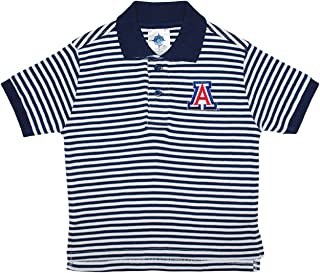 University of Arizona Wildcats Striped Polo Shirt