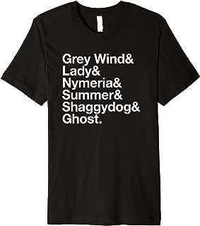 Dire Wolf Name PREMIUM Shirt