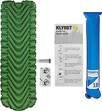 Klymit Static V Lightweight Sleeping Pad Set Options - V Sheet, Pillow X, or Air Pump & Patch Kit