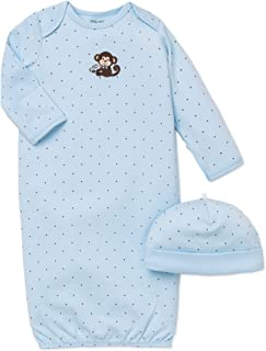 Baby Boys' Gown and Hat