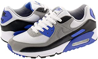 [ナイキ] AIR MAX 90 WHITE/PARTICLE GREY/HYPER ROYAL 【30TH ANNIVERSARY】 [並行輸入品]