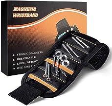 JUNSHUO Magnetische Gereedschap Polsband- Gereedschapsriem Pols | Bouten | Moeren | Schroeven | Spijkers | 15 Magneten voo...