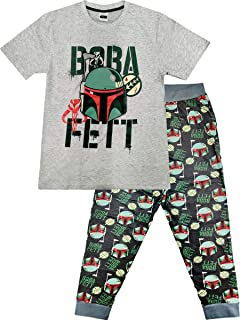 Mens Official Character Pyjamas Pyjama Set Pjs Nightwear Lounge Bottoms T Shirt Gift S-XL