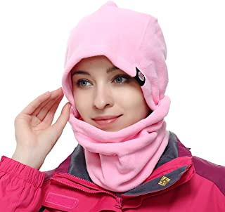 Azarxis Fleece Balaclava Ski Face Mask Windproof Winter Hat Neck Warmer Snowboard Cycling Hat