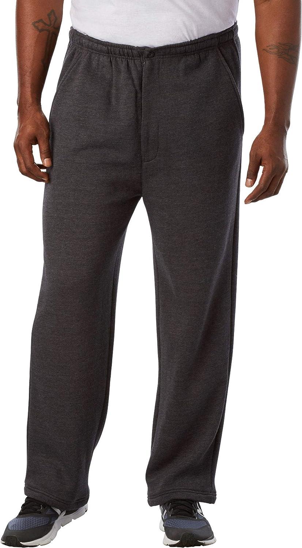KingSize Men's Big Max 65% Sale item OFF Tall Fly Pants Fleece Zip