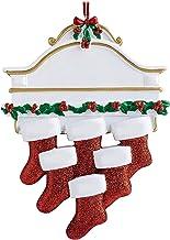 BAODAN Pingente de resina de Natal, pingente de árvore de Natal, pingentes personalizados para árvore de Natal para criar ...