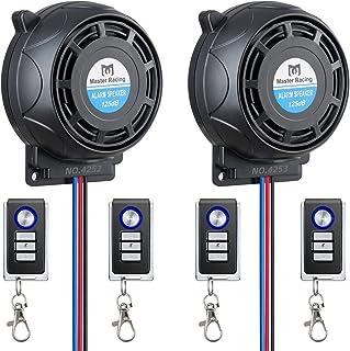 $48 » Rupse Wireless Alarm System Motorcycle Bicycle Bike Anti Theft Security Burglar Double Remote Control Warner Horn Adjustab...