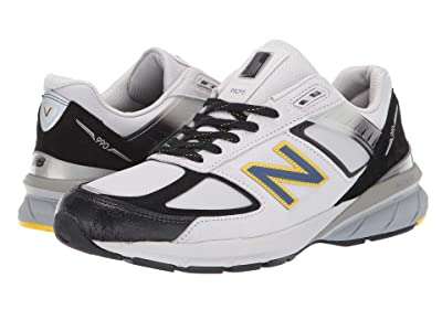 New Balance 990v5 (Silver/Black) Men